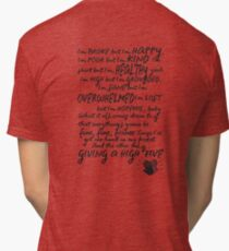 Hand in my pocket Alanis Morissette Tri-blend T-Shirt