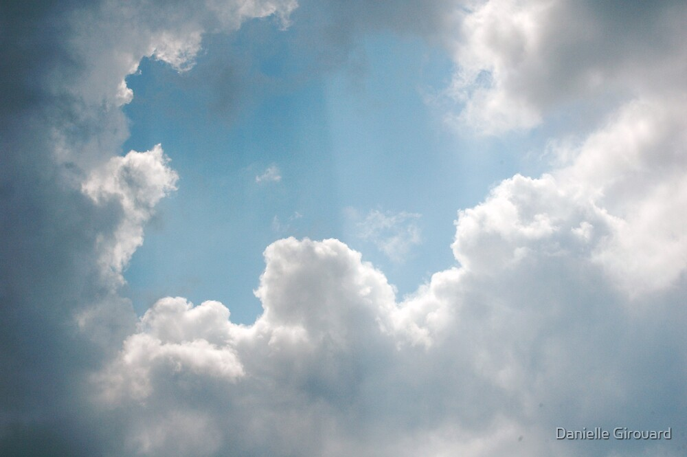 Clouds rays by Danielle Girouard