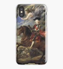 Cardinal-Infante Fernando de Austria at the Battle of Nördlingen 1635 - 1640 Peter Paul Rubens iPhone Case/Skin