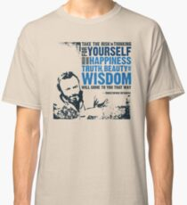 Christopher Hitchens: Think For Yourself Classic T-Shirt