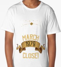 1979 March Birthday Gift - 39 Year Old BDay Long T-Shirt