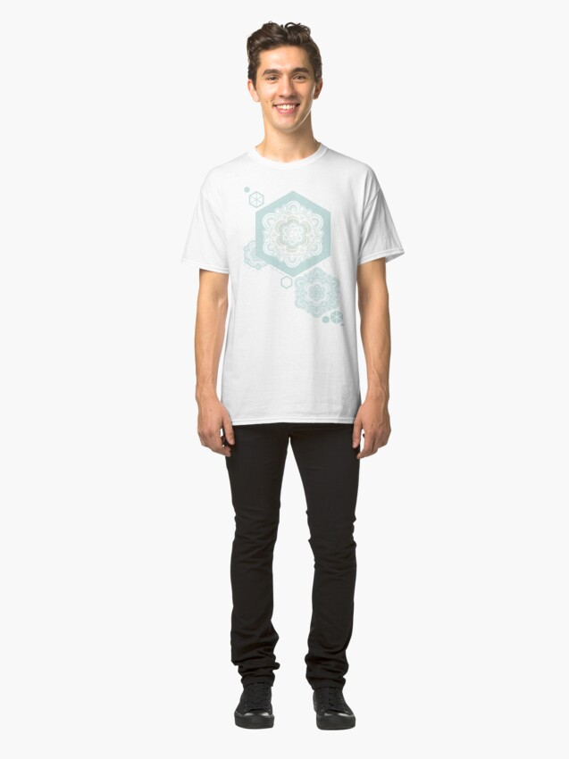 Alternate view of Floral Lace I Classic T-Shirt
