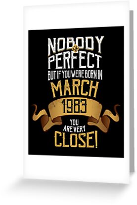 1983 March Birthday Gift