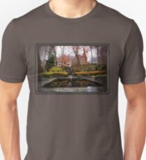 Winterthur Estate with Reflecting Pool Slim Fit T-Shirt