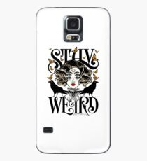 Rose and The Ravens {Stay Weird} Colour Version Case/Skin for Samsung Galaxy