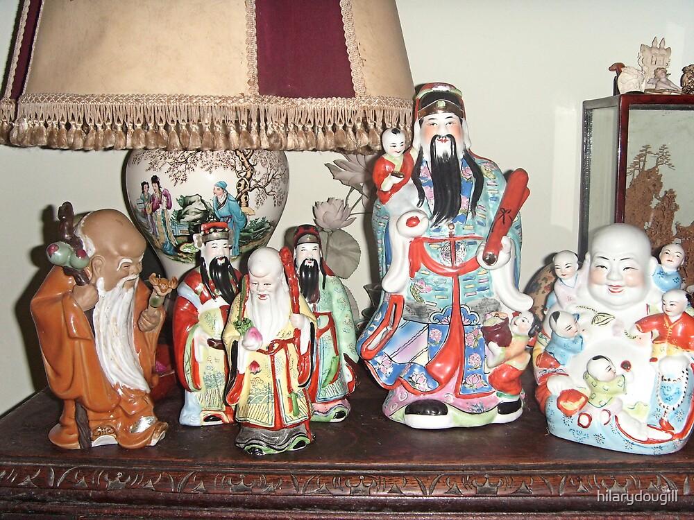 Chinese Deities by hilarydougill