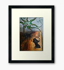 A Conversation with Mr. C. Framed Print