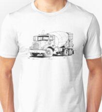 Cement Mixer Unisex T-Shirt