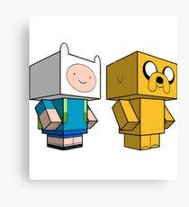 AdventureCraft Canvas Print