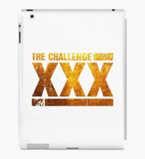 The Gold Logo Of The Challenge Series iPad Case/Skin