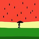 Watermelon Rain by Christopher Johnson