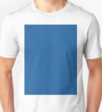 Bold Imperial Blue solid colour Unisex T-Shirt