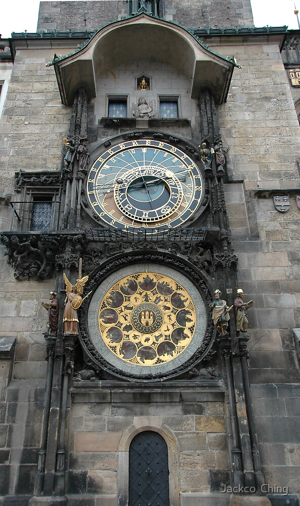 Prague Astronomical Clock by jackco ching