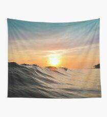 Sunset in Paradise Wall Tapestry