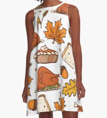 THANKSGIVING A-Line Dress