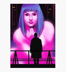 Blade Runner Joi  Photographic Print