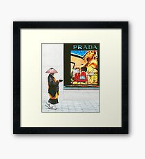 Two Worlds - Takuhatsu Framed Print