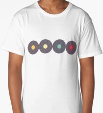 Retro Music Collection Long T-Shirt