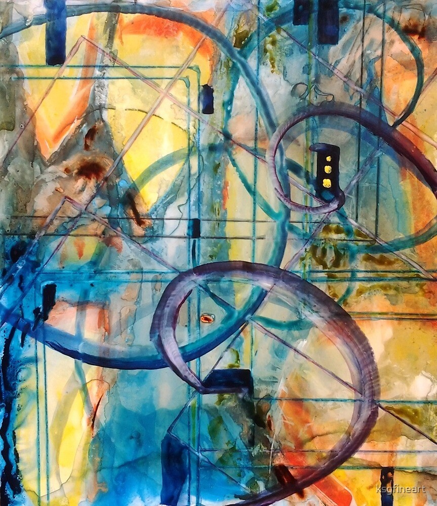 Abstract Appeal by ksgfineart