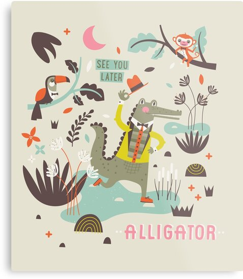 See You Later Alligator by Ine Beerten