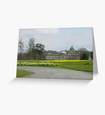Castle Howard  the gardens Greeting Card