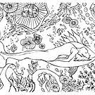 Yoga under the sea by balgrittella