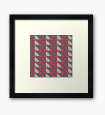 Retro Music Collection Framed Print