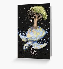 Endangered - Global Warming and Climate Change Greeting Card