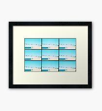 "Beach ""Lounge"" Framed Print"