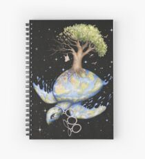 Endangered - Global Warming and Climate Change Spiral Notebook