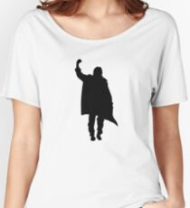 Breakfast Club Ending Pose Graphic Women's Relaxed Fit T-Shirt