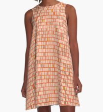 See You Later Stripes A-Line Dress
