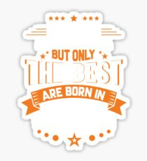 best born october - To design something really new and innovative you have to reject reason. Sticker
