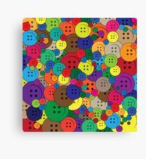 Push the Button Canvas Print