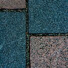 Blue and White Pavement Tiles by arc1