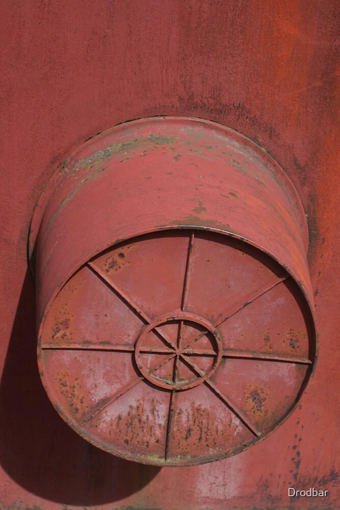 Iron sculpture by Drodbar