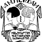 Amsterdam coat of arms by Hannahkaypiche