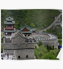 Beijing: At the Great Wall of China  Poster