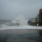 High Tide at Sandsend by dougie1