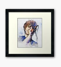 Colors and Ed Framed Print