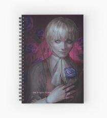 the fragile flower Spiral Notebook