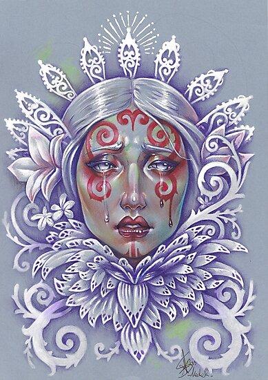 Nouveau Ghost Bride by Medusa Dollmaker