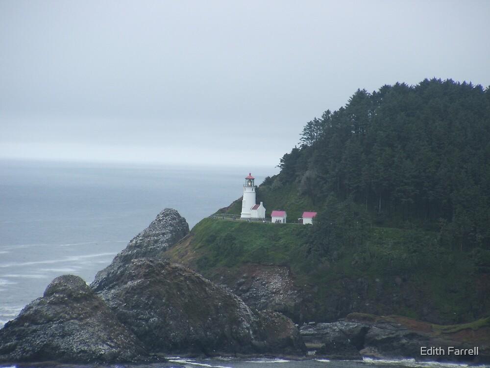 Heceta Head Lighthouse by Edith Farrell