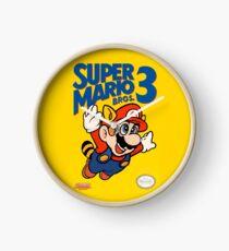 Super Mario Bros. 3 Re-Colored  Clock