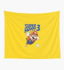Super Mario Bros. 3 Re-Colored  Wall Tapestry