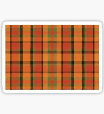Westy Tartan Orange | Bulli Boys Sticker
