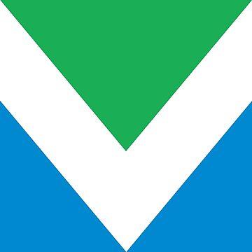 Vegan Flag International by dovpanda