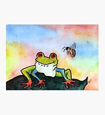Bee Hoppy... Photographic Print