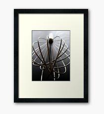 Whisk Framed Print