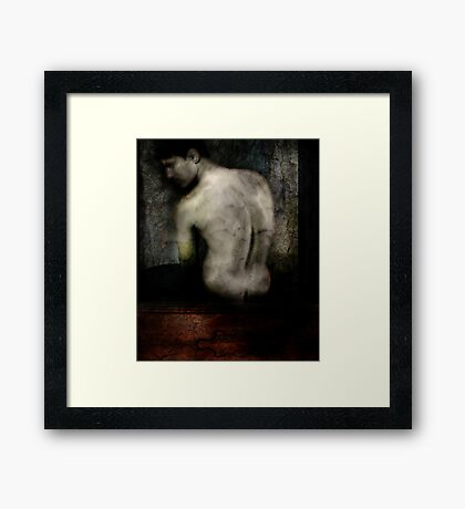 A Pale Shade Of Lonliness Framed Print